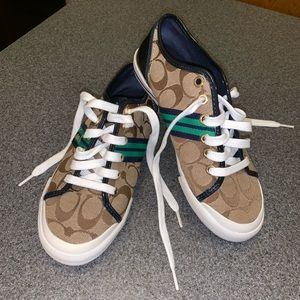 LIKE NEW Coach Folly Size 6.5 Sneakers